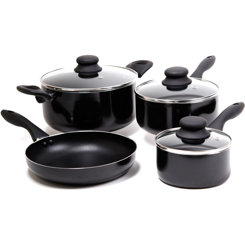 Gibson Oveseas Inc. Gibson Color Splash Branston 7 - Piece Cookware Set, Aluminum