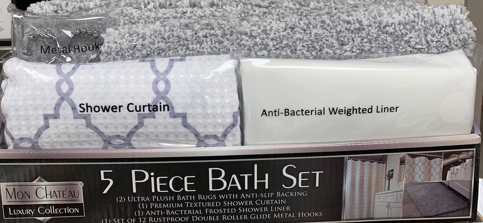 Mon Chateau 5 Piece Bath Set