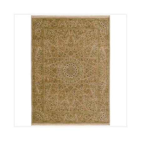 Shaw rugs antiquities mosque medallion beige oriental rug - Shaw rugs discontinued ...