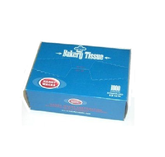 Handy Wax T-6, 6x10.75-Inch Bakery Tissues, 10000-Piece Case by Handy Wacks