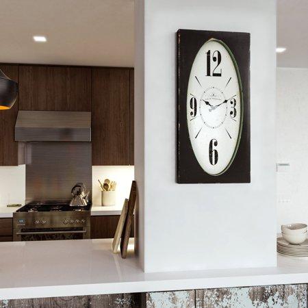 Yosemite Home Decor Speakeasy Spokes Wall Clock - Speakeasy Decor