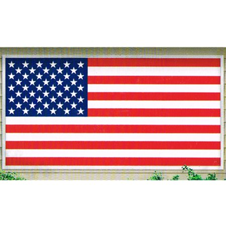 4th of July 'American Pride' Giant Plastic Banner (1ct)](Fourth Of July Party Decorations)