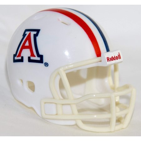 ARIZONA WILDCATS NCAA Revolution POCKET PRO Mini Football Helmet, Ideal for art & crafts projects, or collecting autographs from really tiny players! By Riddell