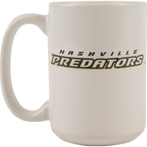 NHL - Nashville Predators 15 oz. White Mug