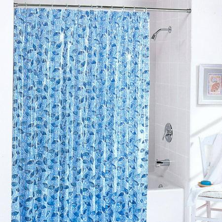 Batik fish shower curtain for Fishing shower curtain