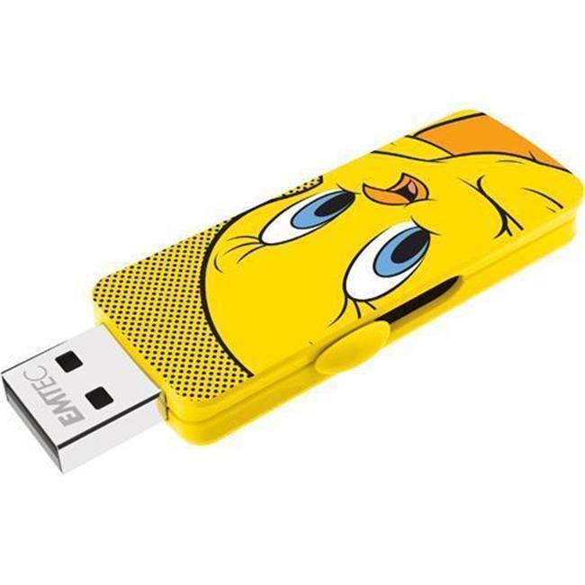 Emtec ECMMD16GM700L100 16 GB M700 LT USB 2.0 Tweety Bird Flash Drive