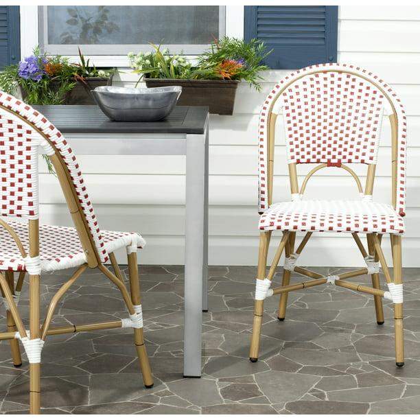 Safavieh Salcha Outdoor French Bistro, French Bistro Furniture Outdoor