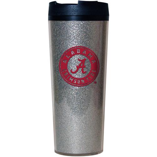 NCAA Alabama Crimson Tide 24-oz Glitter Travel Tumbler