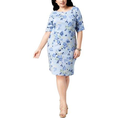Plus Size Toga Dress (Karen Scott Sports Womens Plus Yoga Fitness)