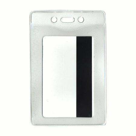 Advantus® Security Badge Holder - Vertical, 2⅝
