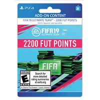 FIFA 19 2200 FUT POINTS, EA, Playstation, [Digital Download]