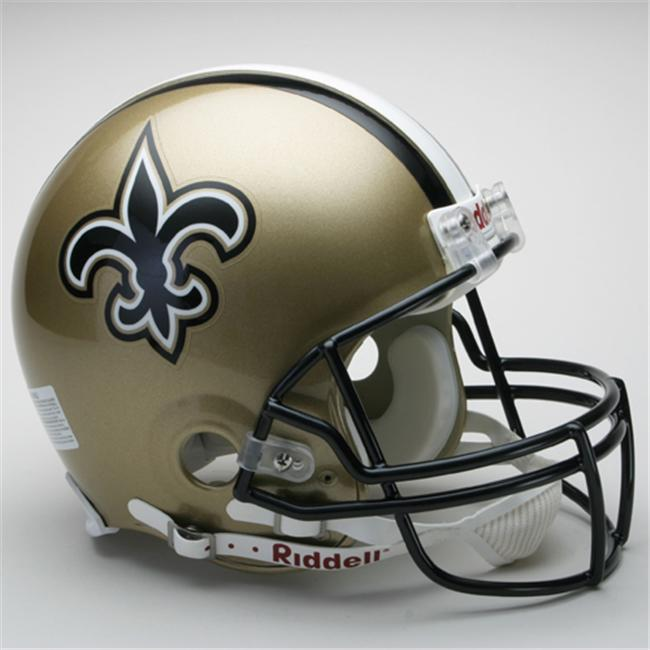 Creative Sports RD-SAINTS-A New Orleans Saints Riddell Full Size Authentic Proline Football Helmet