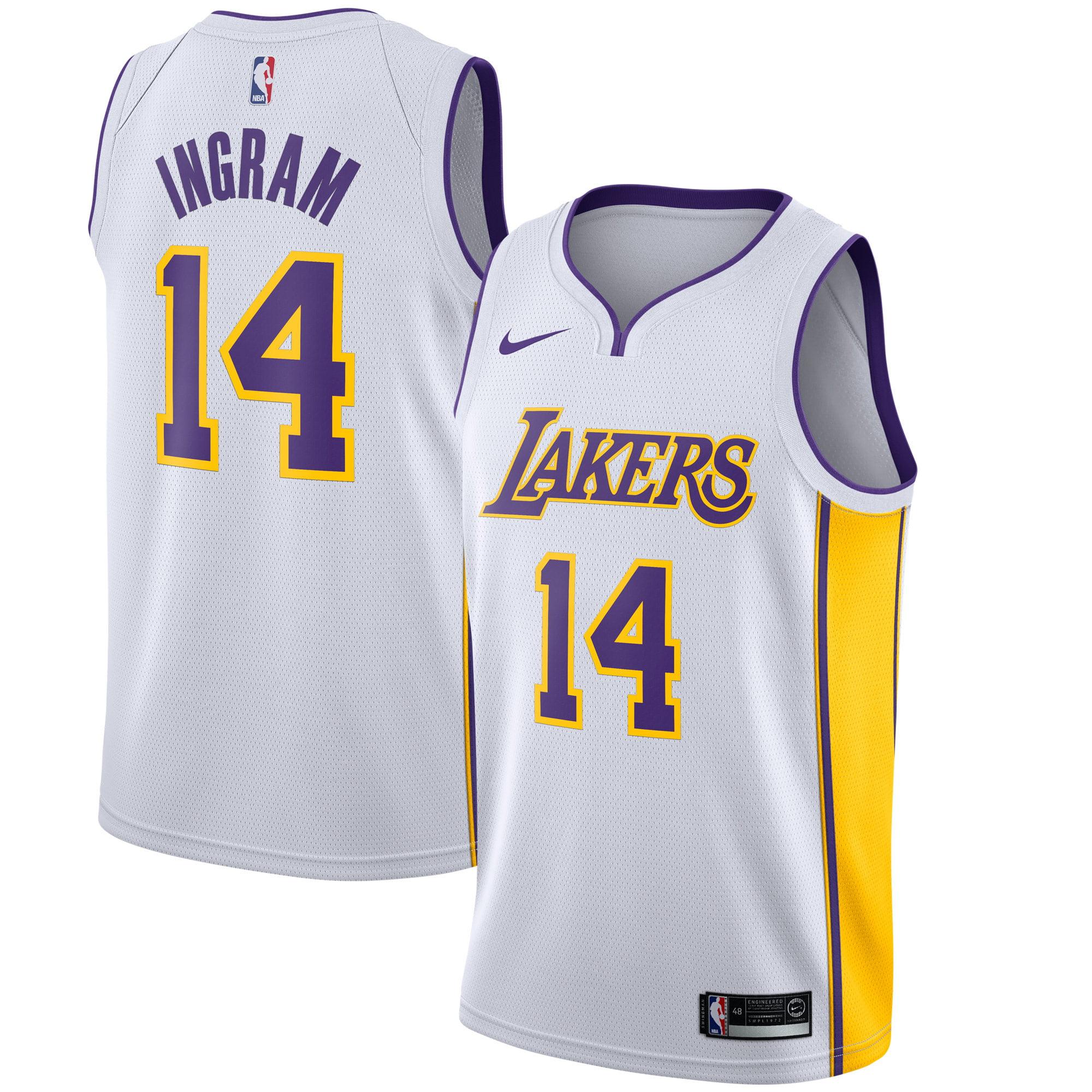 Brandon Ingram Los Angeles Lakers Nike Swingman Jersey White - Association Edition