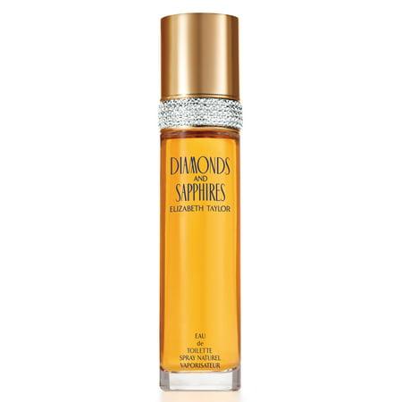 Elizabeth Taylor Diamonds & Sapphires Eau De Toilette Spray for Women 3.4 fl oz