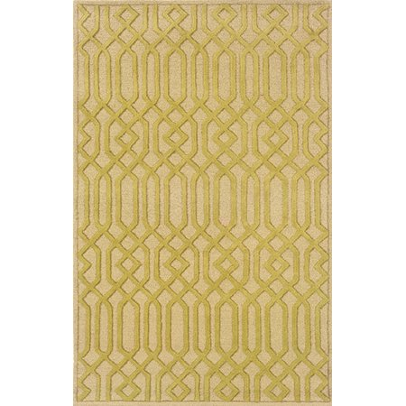 Sphinx Ventura Area Rugs - 18102 Contemporary Beige Chainlink Lines Diamond Rug