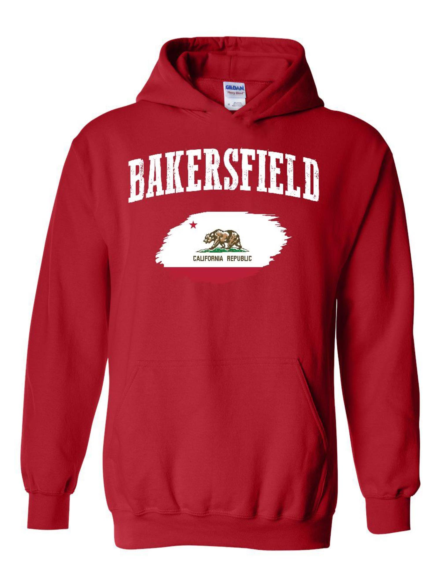 Bakersfield California Unisex Hoodie Hooded Sweatshirt ...