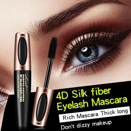 NK HOME Professional Makeup Doll Eye Mascara Big Curl Waterproof Mascara, Very Black - Doll Makeup Tutorial Big Eyes