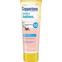 Coppertone Water Babies Sunscreen Lotion SPF 50, 3 Fl Oz