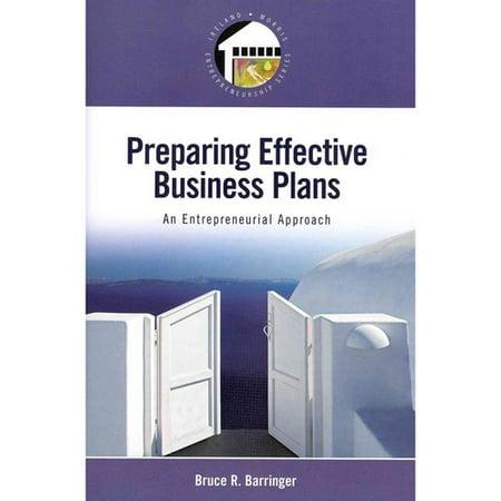 preparing business plans