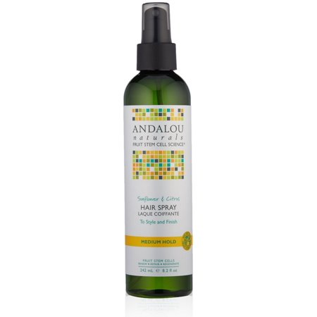 Andalou Naturals Andalou Naturals  Hair Spray, 8.2 (Best Texturizer For 4c Hair)