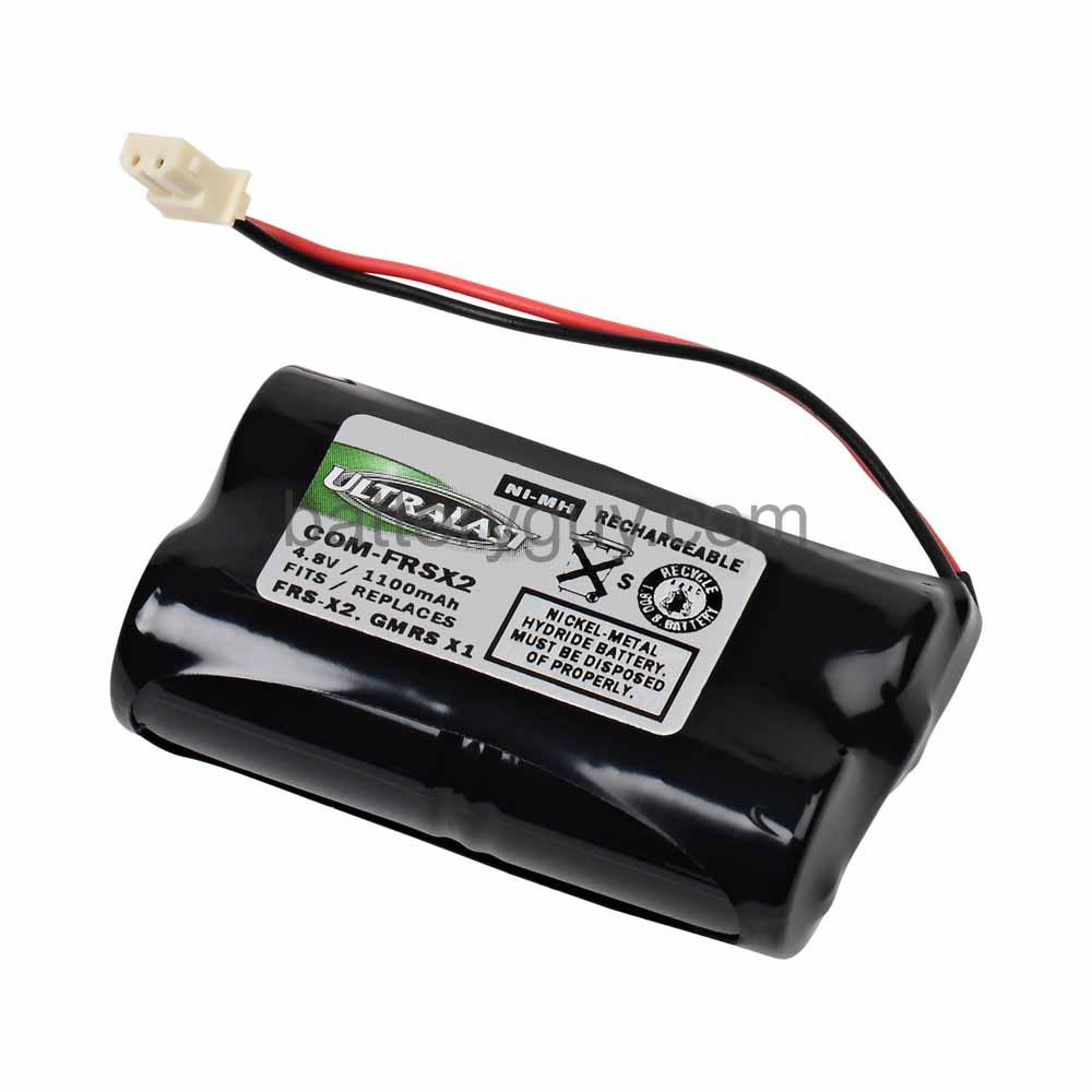 Dantona Replacement FRS GMRS Battery 4.8 Volt Nickel Metal Hydride Replacement FRS GMRS Battery for Chatter Box FRS X2 by Dantona