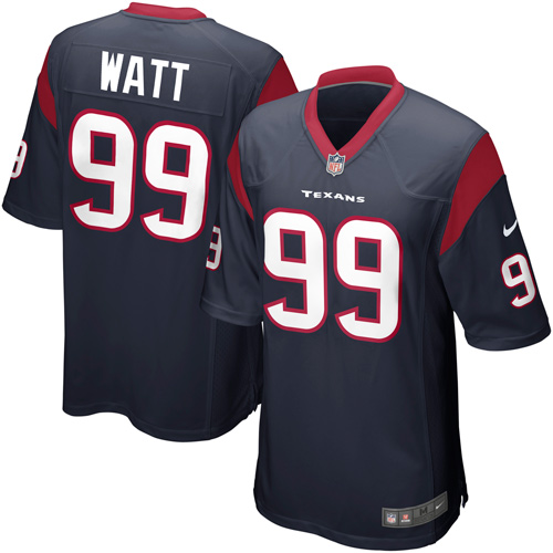 JJ Watt Houston Texans Nike Game Jersey - Navy Blue