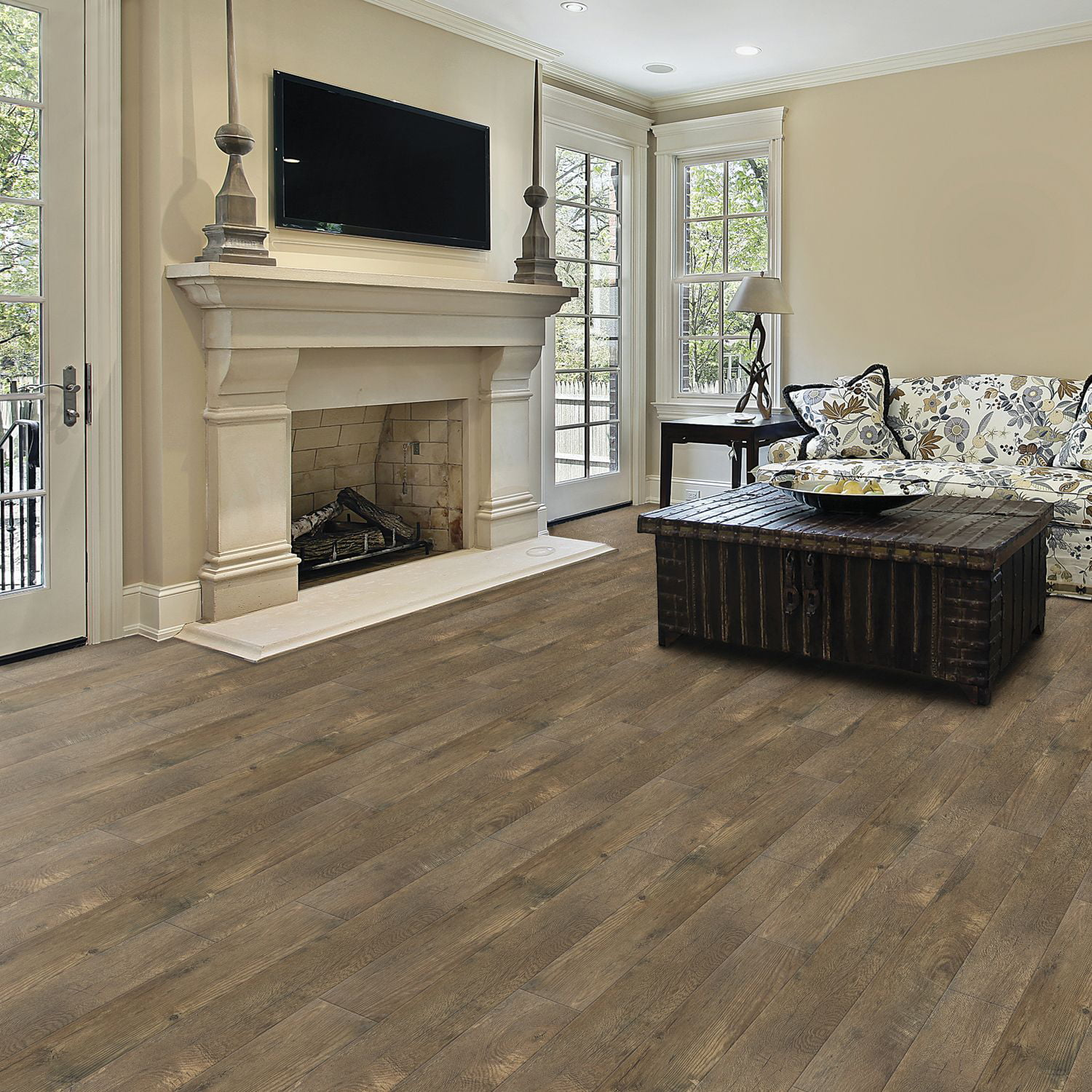 ca lowe oak distressed ft in laminate style flooring my w plank x canada s l wood estate floors
