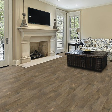 Select Surfaces Click Laminate Flooring Barnwood