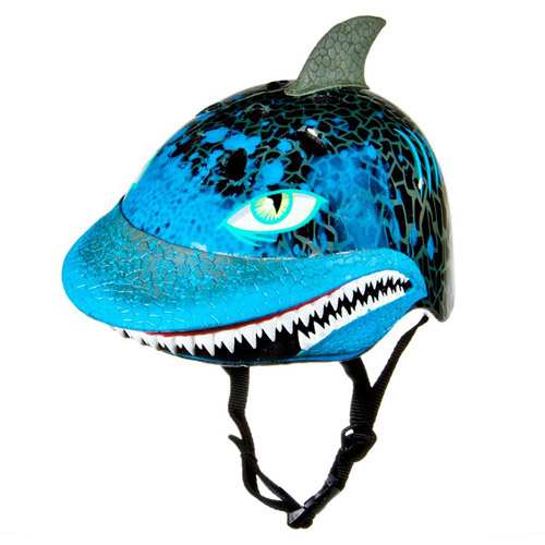 Raskullz Toddler Helmet, Blue Shark