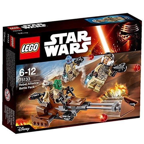 Lego Star Wars - Rebel Alliance Battle Pack 75133 Feature...