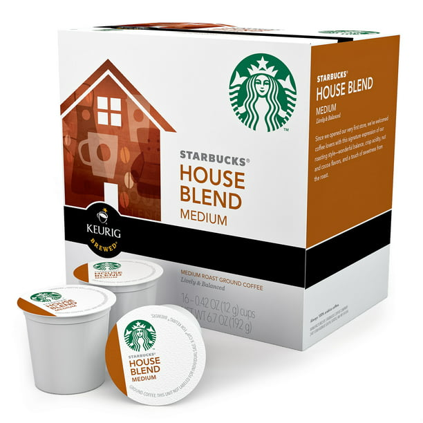 Green Mountain K-Cup Coffee Pods, House Blend, 16 Count for Keurig Brewers - Walmart.com ...
