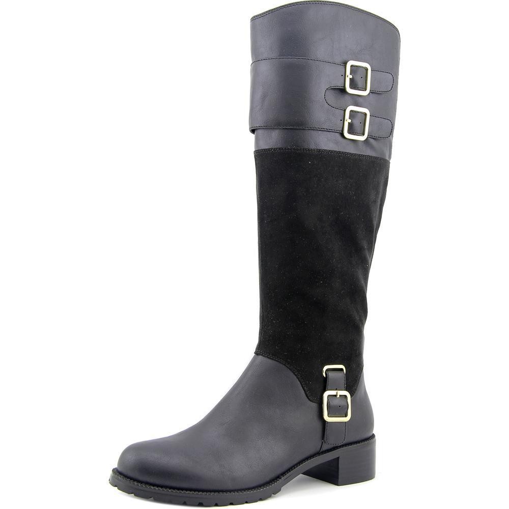 Click here to buy Bella Vita Adriann II Women Round Toe Synthetic Black Knee High Boot by Bella Vita.