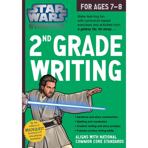 Star Wars 2nd Grade Writing, for Ages 7-8