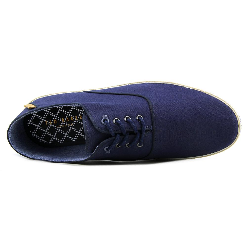 0ac4b384ff63ee Ted Baker - Ted Baker Tobii Round Toe Canvas Sneakers - Walmart.com