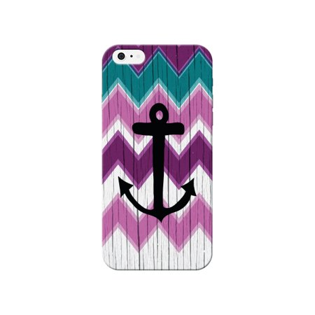 anchor wood pattern phone case - for apple iphone se phone back cover (Iphone Anchor Case)