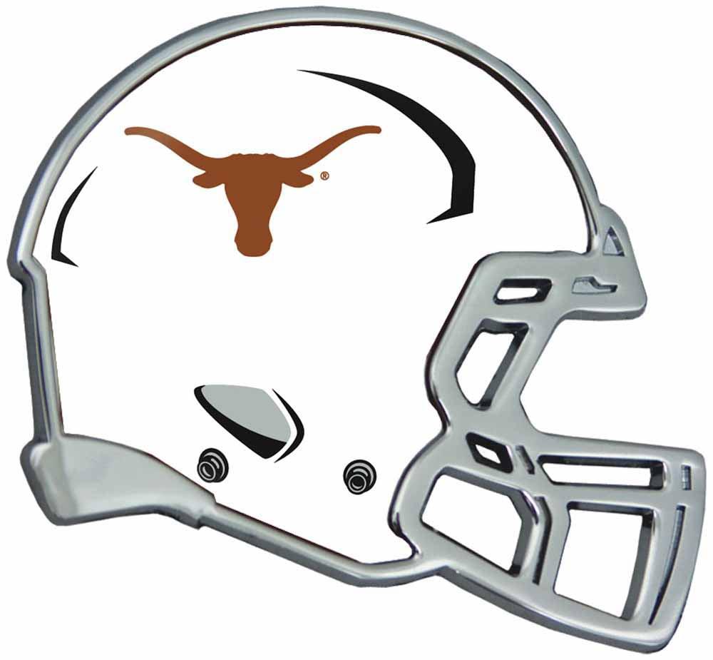 Texas Longhorns Auto Emblem - Helmet