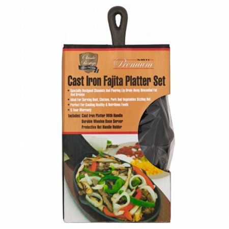 Classic Prestige Cast Iron Fajita Platter (Fajita Platter)