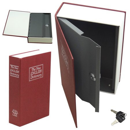 Secret Safe - Hidden Secret Book Safe Large Red