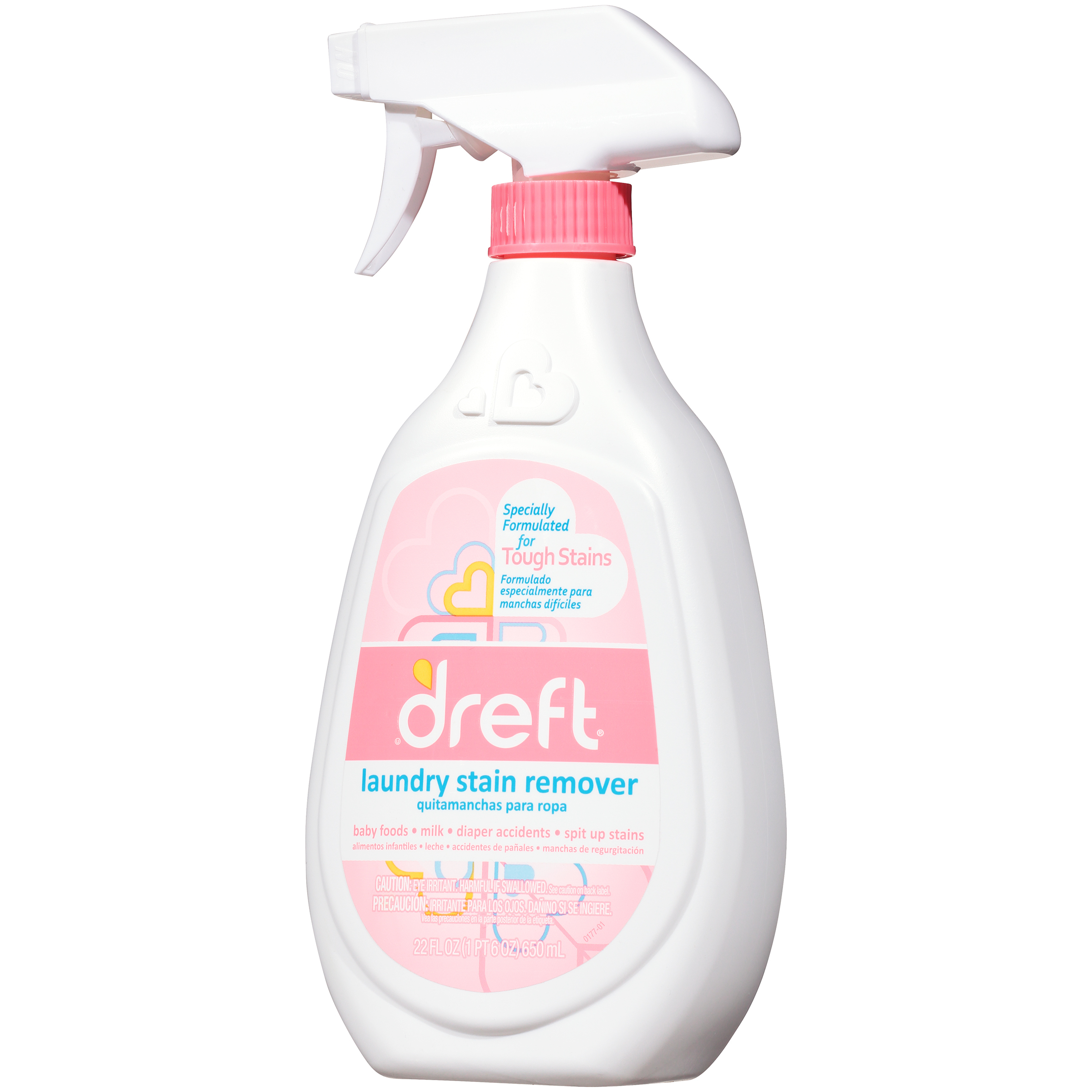 Dreft Laundry Stain Remover 22 Oz Walmart