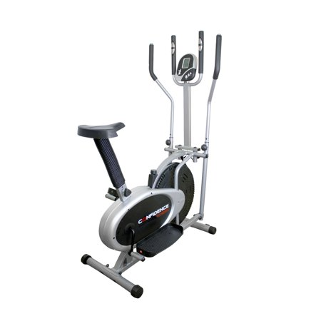 Confidence Pro Model Dual Elliptical Cross Trainer & Exercise Bike