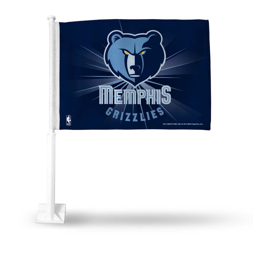 Official NBA Memphis Grizzlies Car Flag 308124