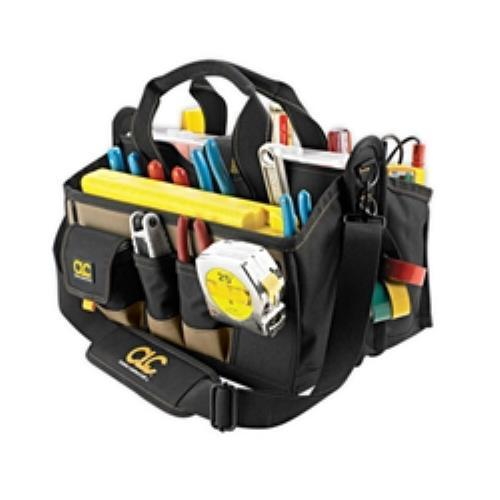 CLC 15 Pocket 16in Center Tray Tool Bag by