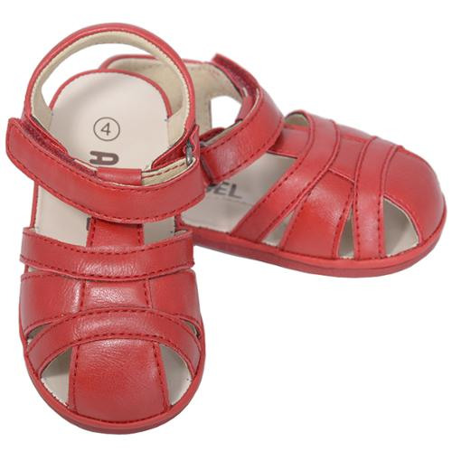 Angel Red Fisherman Open Heel Sandals Baby Boy 1-Toddler Boy 7