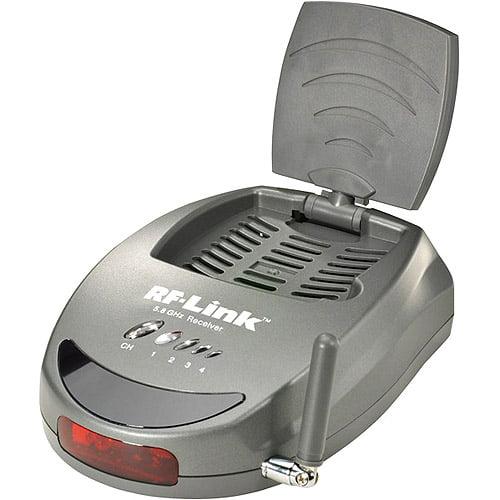 RF Link 5.8 GHz Audio/Video Receiver Add-On Receiver
