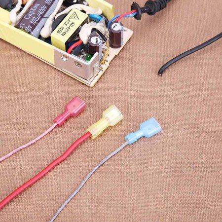 Electric Wire Cable Connectors Quick Splice Terminals Crimp Set Non on