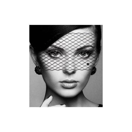 Louise Decal Eye Mask, Bird Cage Eye Mask](Louise Costume)