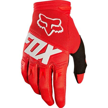 Fox Racing Adult 2019 DIRTPAW Gloves -RED LARGE- Motocross MX Dirt Bike ATV