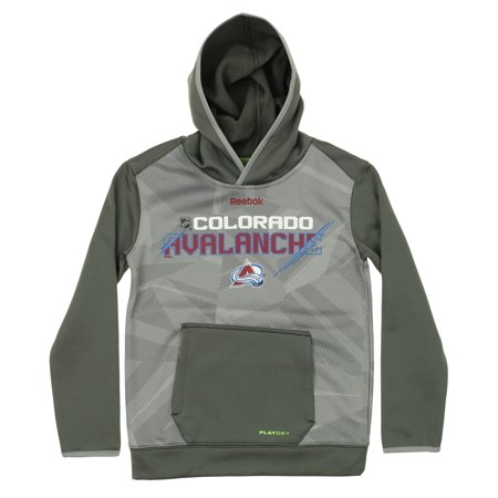 Reebok NHL Youth Colorado Avalanche Center Ice Forecheck TNT Pullover Hoodie
