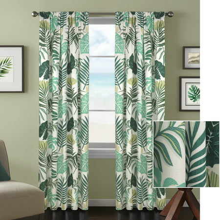 Better Homes And Gardens Tropical Palm Window Curtain Panel