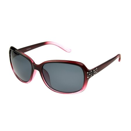 Foster Grant Women's Berry Rectangle Sunglasses K06 ()